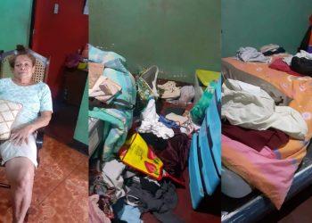 Policía de León allana casa del universitario Bayron Corea Estrada y «enchacha» a su abuelita.