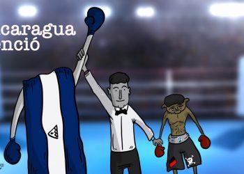 La Caricatura: Nicaragua venció