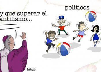 La Caricatura: Infantilismo político