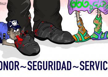 La Caricatura: Serviles con honor