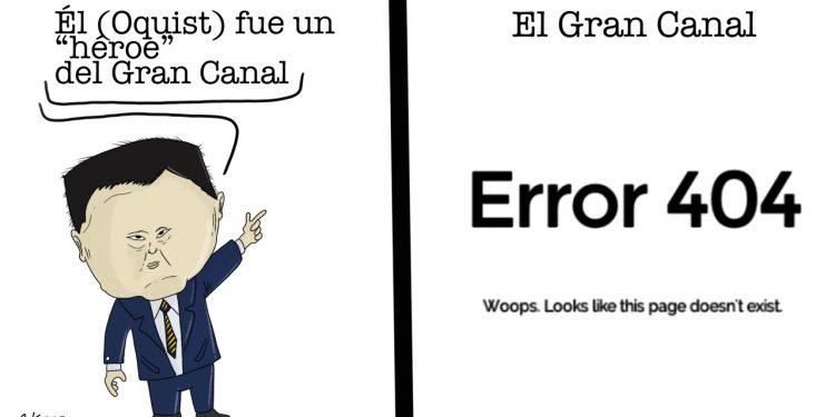 La Caricatura: Error 404