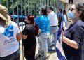 Alianza Cívica realiza piquete de protesta en medio de acoso policial. Foto: Artículo 66/ Noel Miranda.