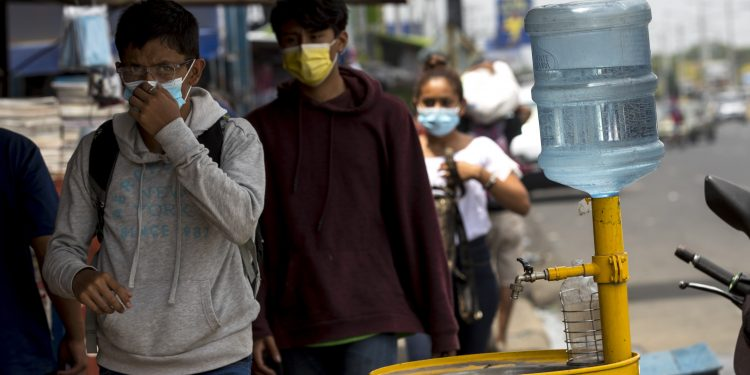 Minsa reconoce más casos de COVID-19 en Nicaragua: 91 nuevos contagios en una semana. Foto: Artículo 66/EFE