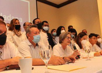 Alianza Ciudadanos por la Libertad rechaza cancelación de personería jurídica del PRD. Foto: CxL.