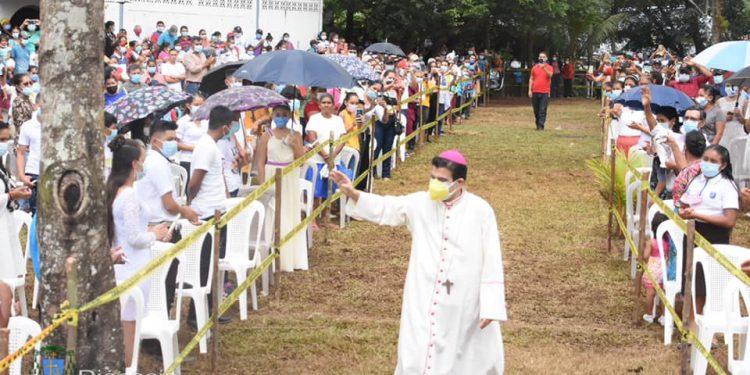 Monseñor Rolando Álvarez dice que «no todo está perdido» pese a que no se concretó la unidad opositora. Foto: Cortesía/Diócesis de Matagalpa