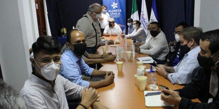 Coalición Nacional está dispuesto a ceder con la Alianza Ciudadana, «si hay garantías». Foto: Artículo 66 / CxL