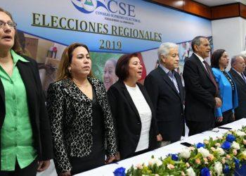 Los magistrados electorales «desechados» por Daniel Ortega pasan a la historia con más pena que gloria. Foto: Internet.