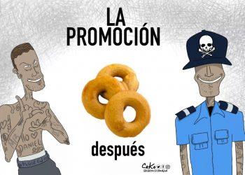 La Caricatura: La promoción