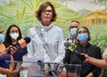 Cristiana Chamorro denuncia «rosario de violaciones» a derechos humanos y constitucionales de extrabajadores de la Fundación Violeta Barrios, Foto: N. Miranda/Artículo 66