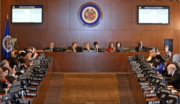 Opositores aplauden inclusión del tema de la situación de Nicaragua en próxima sesión del Consejo Permanente de la OEA. Foto: Internet.