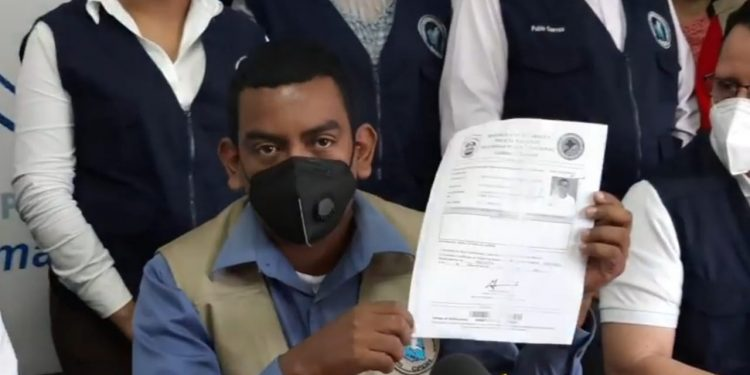 Dictadura presenta como delincuente ante la Corte Interamericana de Derechos Humanos a abogado de CPDH. Foto: Boletín Ecológico / Captura de pantalla