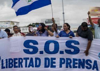 En el día mundial de la libertad de prensa, periodismo independiente en Nicaragua bajo represión gubernamental. Foto: Internet.
