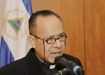 Monseñor Abelardo Mata hospitalizado por complicaciones en su salud . Oscar Navarrete/LA PRENSA.