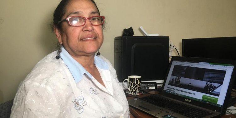 Régimen cita la periodista Patricia Orozco en caso contra Cristiana Chamorro. Foto: Nicaragua Investiga.
