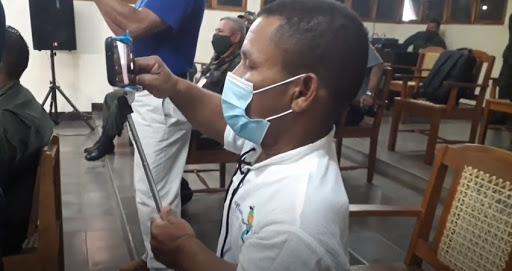 Periodista Roberto Mora y Radio la Costeñísima condenan criminalización de la dictadura. Foto: Artículo 66 / Internet
