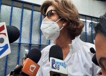 Cristiana Chamorro interpone un recurso de amparo ante la Corte Suprema de Justicia. Foto: Noel Miranda/Artículo 66