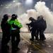 Denuncian uso de proyectiles contra manifestantes en Colombia