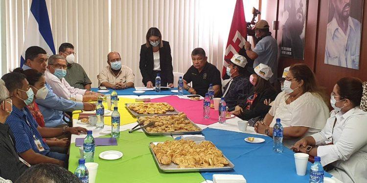 FSLN inscribe alianza electoral para «levantar la moral» de sus seguidores. Foto: MCLI.