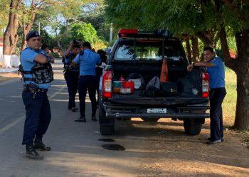Régimen exhibe Estado policial en el tercer día de «casa por cárcel» a precandidatos presidenciales. Foto: Artículo 66/ Cortesía.