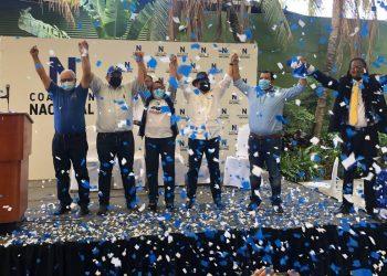 Coalición Nacional presenta oficialmente a sus precandidatos a la Presidencia . Foto: Cortesía.