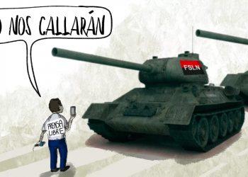 La Caricatura: La prensa libre al pie del cañón