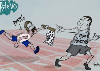 La Caricatura: El relevo de la lucha