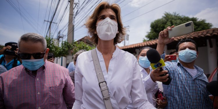 Cristiana Chamorro, precandidata presidencial.