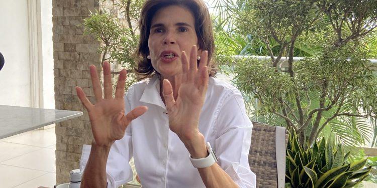 Cristiana Chamorro: «Seguramente el régimen tiene lista la sentencia» en mi contra. Foto: Confidencial.