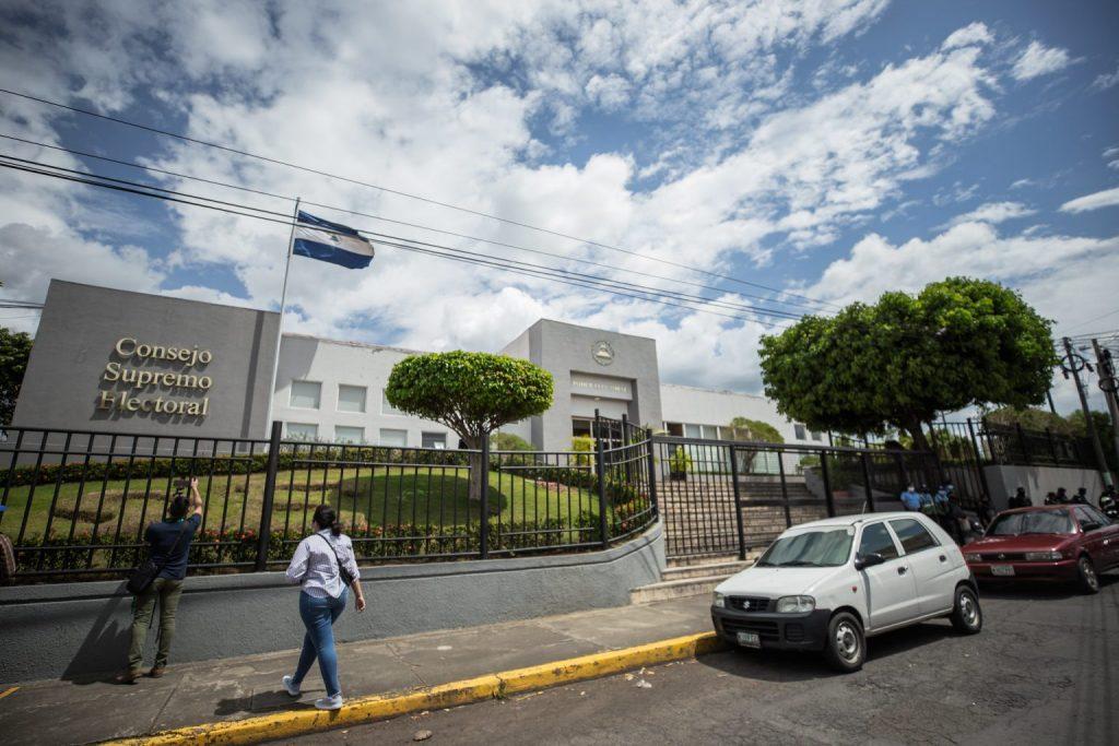 Sede del cuestionado Consejo Supremo Electoral | Redacción Abierta.