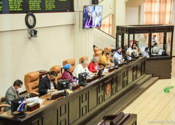 Asamblea Nacional aprueba reforma electoral restrictiva de Daniel Ortega. Foto: AN.