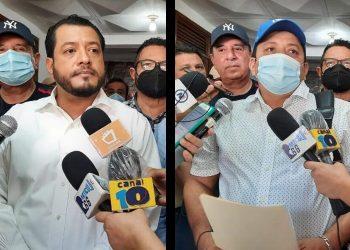 Félix Maradiaga y Medardo Mairena solicitan inscribirse como precandidatos de la ACxL