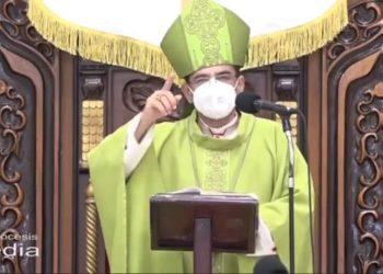 Monseñor Álvarez: «No se puede vivir excluyendo, censurando y descartando al adversario». Foto: Artículo 66 / captura de pantalla
