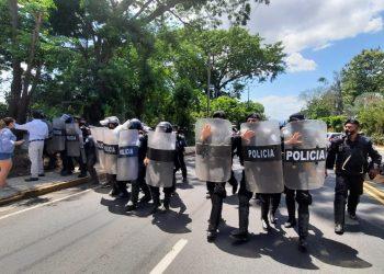 El régimen de Ortega-Murillo ha incrementado la represión contra la oposición en Nicaragua. Foto Artículo 66 / Noel Miranda