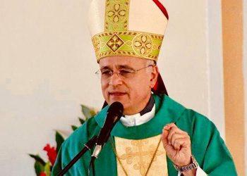 Obispo Silvio Báez: «En estos momentos no hay que dejar que el miedo nos domine». Foto: Internet.