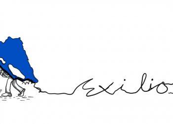 La Caricatura: Lo que siempre se lleva el nica que huye de la represión