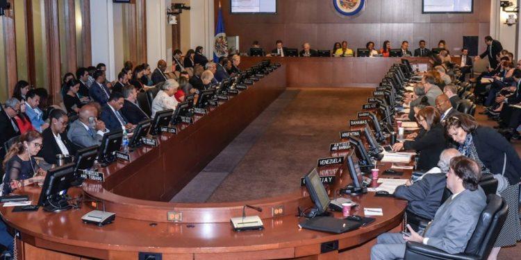 CIDH rinde informe sobre situación de Nicaragua en sesión de Consejo Permanente de la OEA el próximo miércoles. Foto: Internet.
