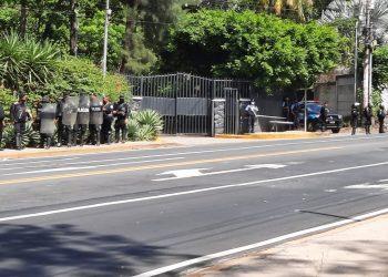 Exiliados en Europa condenan acciones represivas contra Cristiana Chamorro. Foto: Artículo 66 / Noel Miranda