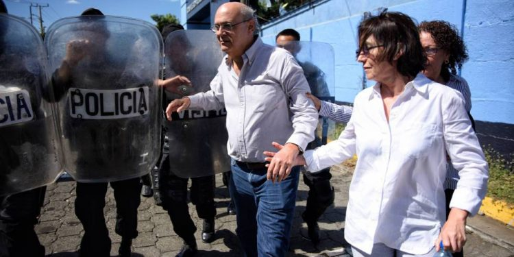Policía de Ortega allana vivienda del periodista Carlos Fernando Chamorro. Foto: Cortesía.