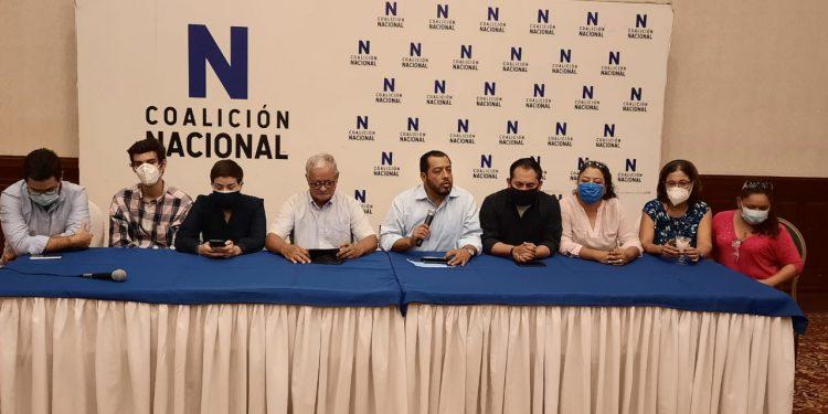 Coalición Nacional llama a movilización nacional e internacional por liberación Cristiana Chamorro, Arturo Cruz y todos los presos políticos. Foto: N. Miranda/Artículo 66.