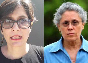 Detención de la comandante Dora María Téllez y Ana Margarita Vigil fue ejecutada por más de 60 policías armados que las golpearon para llevárselas. Foto: Artículo 66.