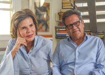 Cristiana Chamorro y Arturo Cruz, primeros aspirantes a la presidencia encarcelados por la dictadura de Ortega. Foto: Confidencial.