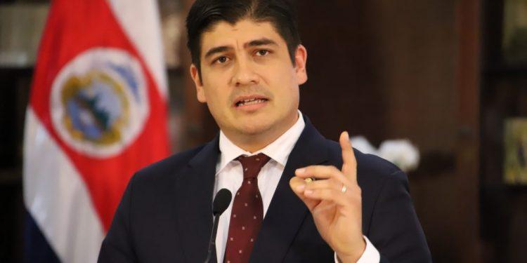 El Gobierno de Carlos Alvarado a suspendido el envío de su nueva embajadora al país. Foto: Tomada de internet