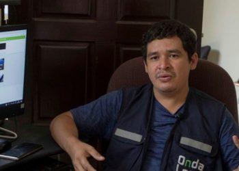 Periodista Julio López se exilia para no ser silenciado por la dictadura. Foto: Artículo 66 /Redes sociales
