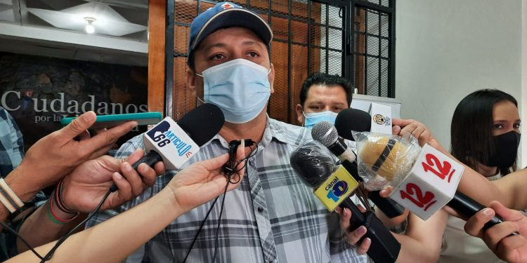 EE.UU. demanda la liberación de Medardo Mairena «secuestrado» por segunda vez por el régimen. Foto: N. Miranda/Artículo 66.