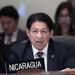 Canciller del régimen Ortega-Murillo asegura que en Nicaragua no hay perseguidos ni presos políticos. Foto: Internet.