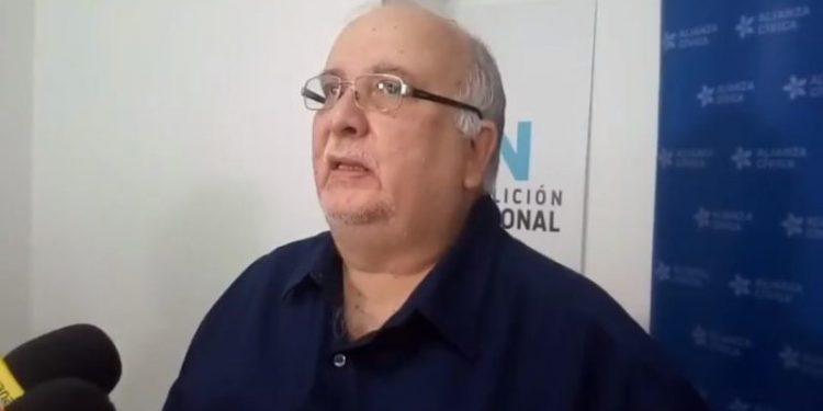 La vida del político opositor José Pallais, rehén de la dictadura, está en riesgo, denuncia la Coalición Nacional. Foro: Internet.