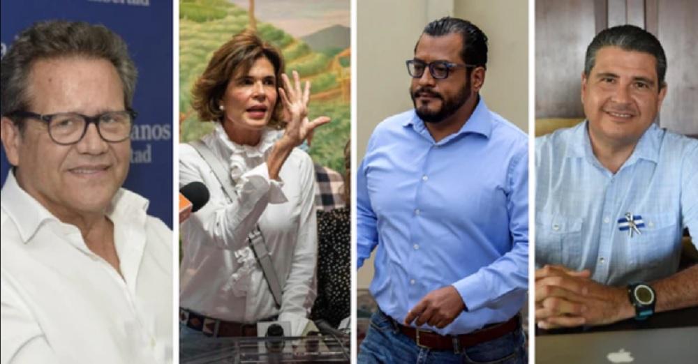 Tiranía Ortega-Murillo se ensaña contra precandidatos presidenciales a los que les elimina derechos constitucionales. Foto: Internet.