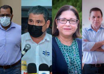 CIDH pide medidas de protección en favor de Violeta Granera, Juan Sebastian Chamorro, Félix Maradiaga y José Adán Aguerri. Foto: La Prensa.