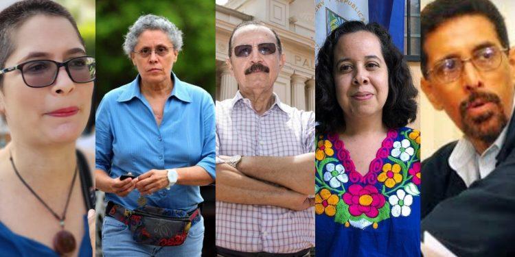Régimen de Ortega se ensaña con miembros de Unamos y ordena encarcelar a cinco dirigentes en un solo día.