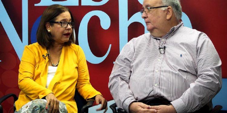 Dictadura decreta cárcel por 90 días contra dirigentes opositores Violeta Granera y José Pallais. Foto: Confidencial.